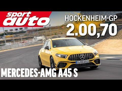 Mercedes-AMG A45 S 4Matic+ |Hot Lap Hockenheim-GP | sport auto