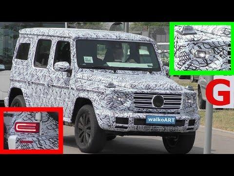Mercedes Erlkönig - Neues von der G Klasse 2018 - News of the G-Class W 464 SPY VIDEO