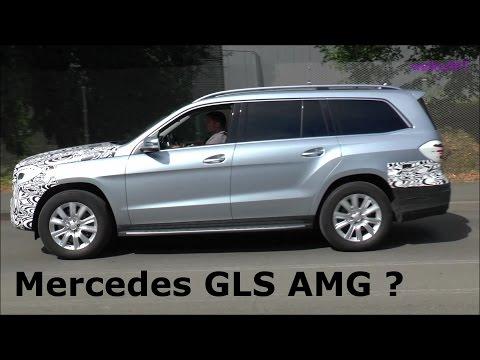 Mercedes-Benz GLS Facelift 2016 Erlkönig Prototype GLS 63 AMG?? (X166 Mercedes GL-Facelift)