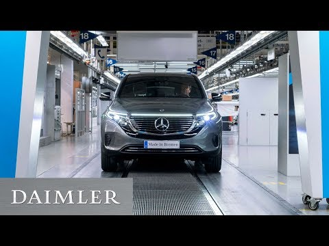 Mercedes-Benz EQC Start of Production