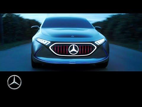 Mercedes-Benz Concept EQA: Electrifying Sicily