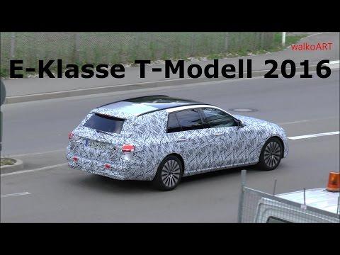 ERLKÖNIG PREMIERE Mercedes E-Klasse T-Modell S213 E-Class Estate 2017 first time on the road