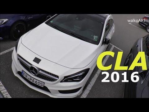 Erlkönig Mercedes CLA Shooting Brake Facelift 2016 Modellpflege X117 Prototype CLA 2016 SPY VIDEO