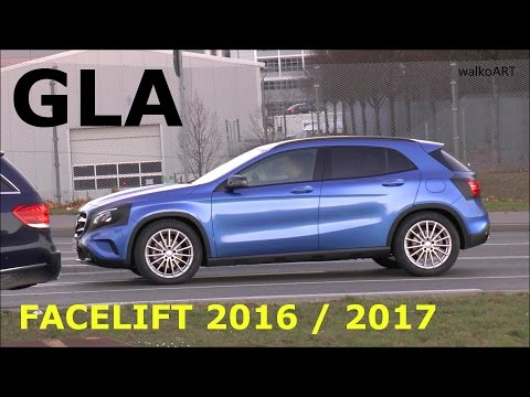 ERLKÖNIG PREMIERE Mercedes GLA Facelift X156 2016 / 2017 first time prototype GLA-Class SPY VIDEO