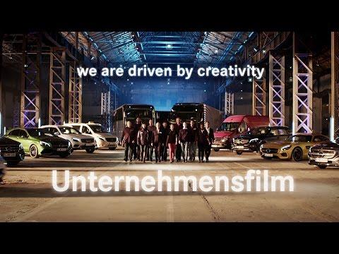 """Driven by creativity"" - Daimler-Unternehmensfilm 2016"