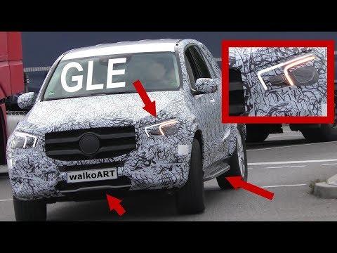 Mercedes Erlkönig GLE NEWS W167 - Scheinwerfer - headlights - NEUES vom GLE 2018 4K SPY VIDEO