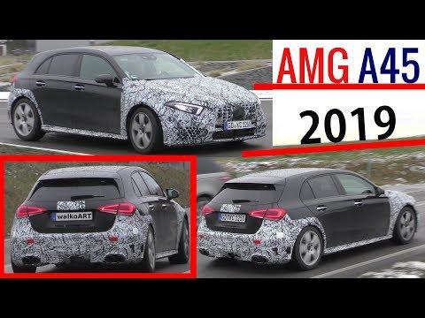 Mercedes Erlkönig AMG A45 (2019) W177 prototype 4K SPY VIDEO