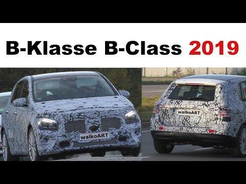 Mercedes Erlkönig B-Klasse B-Class 2019 W247? prototype on the road - auf der Straße 4K SPY VIDEO