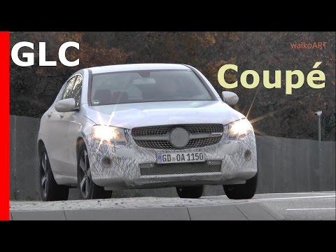 WOW! Mercedes Erlkönig - GLC Coupé C253 Plug-In Hybrid Mercedes Prototype 2016 SPY VIDEO