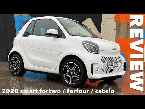 2020 smart eq fortwo, cabrio oder forfour? Fahrbericht Test Review Kaufberatung Meinung Kritik Preis