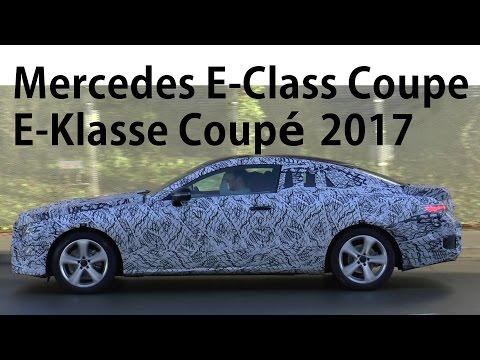 Mercedes Erlkönig E-Klasse Coupé 2017 in Bewegung E-Class Coupe C238 2018 prototype in motion