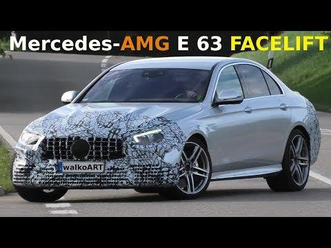 Mercedes Erlkönig AMG E63 4MATIC+ FACELIFT (2020) W213 prototype - 4K SPY VIDEO