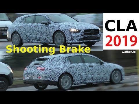 Mercedes Erlkönig CLA Shooting Brake II 2019 X118 prototype - 4K SPY VIDEO