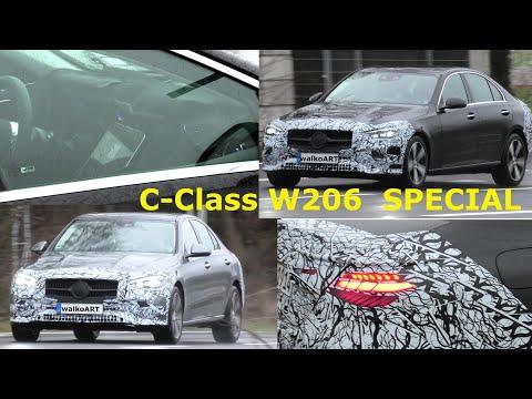 Mercedes Erlkönig C-Class C-Klasse W206 interior exterior SPECIAL * Der letzte Erlkönig-Clip 2020