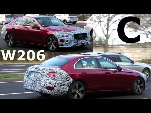 Mercedes Erlkönig: C-Klasse C-Class W206 * RED ALERT! * Prototype 4K SPY VIDEO
