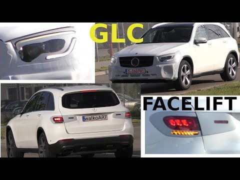 Mercedes Erlkönig Video Weltpremiere GLC X253 Facelift prototype Modellpflege 2019 4K SPY VIDEO