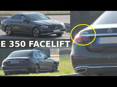 Mercedes-Benz E-Klasse E 350 Facelift W213 (Avantgarde) auf der Straße * on the road * 4K SPY VIDEO