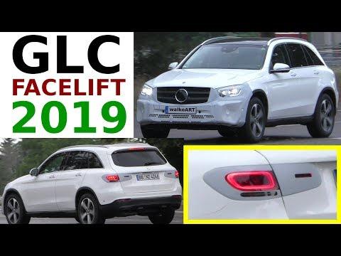 Mercedes Erlkönig GLC Facelift 2019 X253 prototype GLC Facelift 4K SPY VIDEO