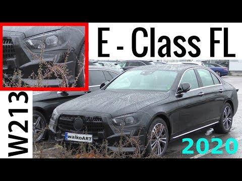 Mercedes Erlkönig E-Klasse MoPf 2020 E-Class Facelift W213 prototype- 4K SPY VIDEO
