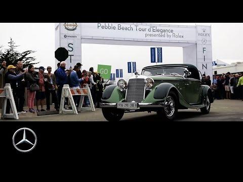 Pebble Beach Concours d'Elegance: 2016 Monterey Car Week – Mercedes-Benz original
