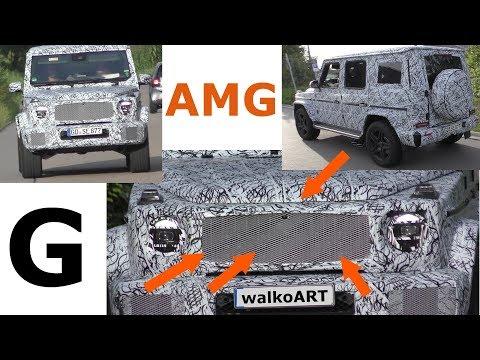 Mercedes Erlkönig AMG G-Class G63 G65 2018 Panamericana-Grill W464 prototype NEWS 4K SPY VIDEO