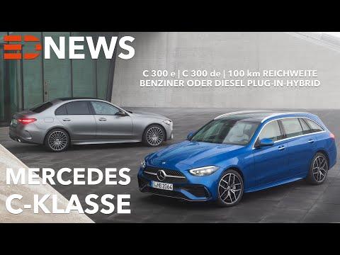 2021 Mercedes-Benz C-Klasse C 300 e | C 300 de | Plugin-Hybrid mit 100 km elektrische Reichweite