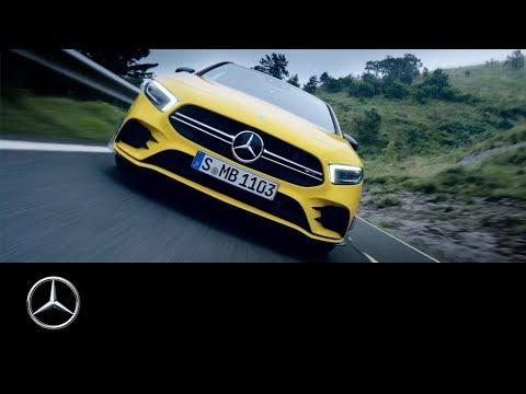 Mercedes-AMG A 35 4MATIC (2019): Emotional, Agile & Digital | Trailer