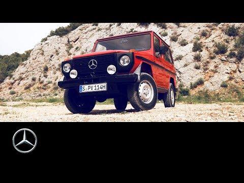 Mercedes-Benz 230 G: A timeless legend in France