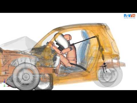 Sicherheit im Automobil-Bau: Crashtest!