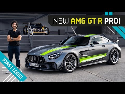 Mr AMG on the AMG GT R Pro! Road Legal Track Demon!!