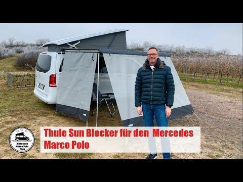 Thule Sun Blocker für den Mercedes Marco Polo - Test und Montage