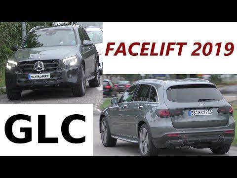 Mercedes Erlkönig GLC Facelift X253 prototype - Modellpflege 2019 - 4K SPY VIDEO