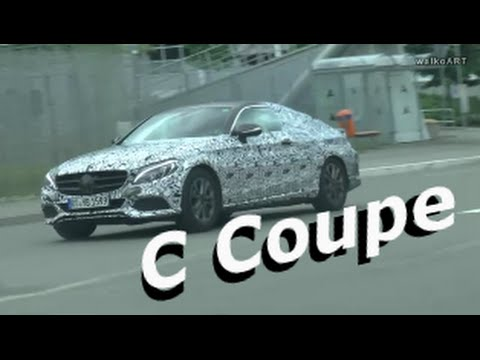 NEU! C-Klasse Coupé C205 Mercedes Erlkönig 2015-2016 NEW Mercedes prototype C-Class Coupe