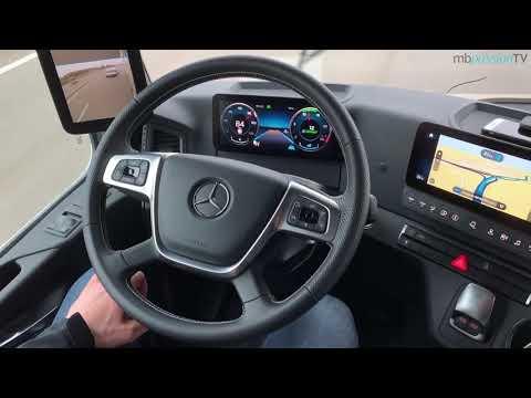 MBpassionTV: Der neue Mercedes-Benz Actros - MirrorCam, ADA und PPC im Test
