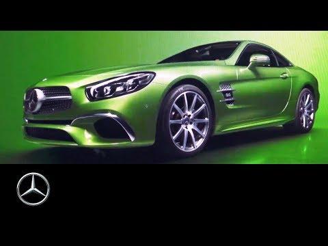 Mercedes-Benz 2019 Passenger Cars Calendar: A World of Colour | Making-of