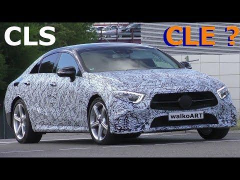 Mercedes Erlkönig CLS - CLE ? Neues vom Viertürer Coupé 2018 prototype NEWS C257 - 4K SPY VIDEO