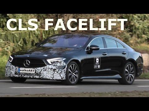 Mercedes Erlkönig CLS Facelift 2021 Modellpflege C257 prototype * 4K SPY VIDEO