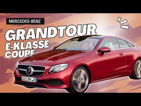 Mercedes-Benz E220d Coupé im Test // Fahrbericht