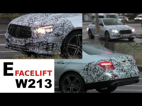 Mercedes Erlkönig E-Klasse E-Class Facelift W213 Modellpflege 2020 * 4K SPY VIDEO