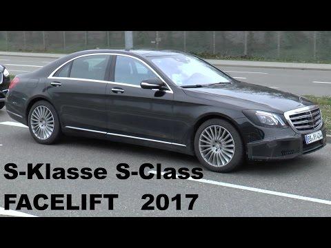 Mercedes Erlkönig S-Klasse Facelift 2017 wenig getarnt - S-Class FL W222 less camouflaged spotted