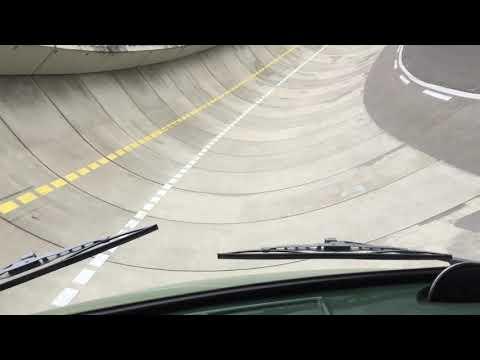 Steilkurven-Fahrt mit dem Mercedes-Benz LKW L 1113