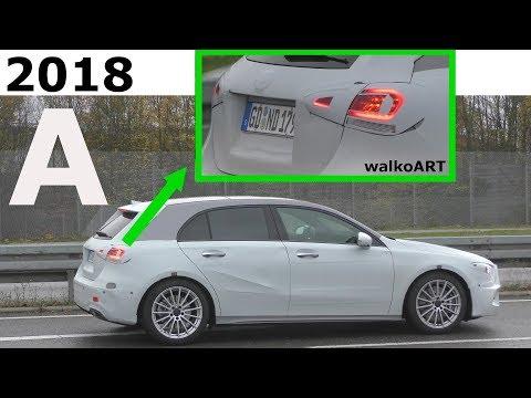 Mercedes Erlkönig A-Class News Part 2 - Neues von der A-Klasse W177 Teil 2 - 4K SPY VIDEO