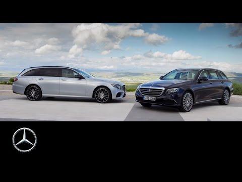 The new E-Class Estate: Trailer - Mercedes-Benz original
