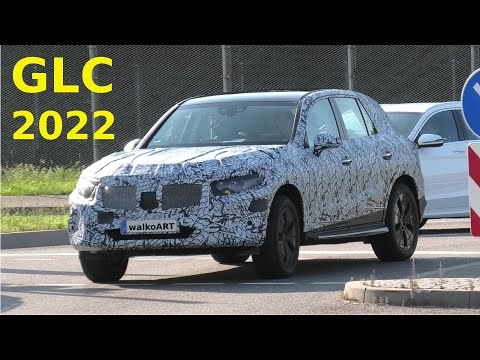 Mercedes Erlkönig GLC 2022 * next generation GLC II prototype * X254 * 4K SPY VIDEO
