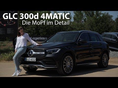 2019 Mercedes-Benz GLC 300d 4MATIC (MoPf) Fahrbericht / GIRLS REVIEW / Larissa testet - Autophorie