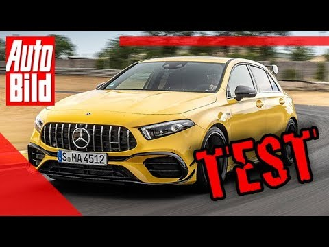 Mercedes-AMG A 45 S (2019): Test - Motor - Infos