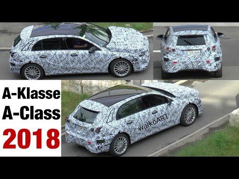Erlkönig Mercedes-Benz A-Klasse prototype A-Class 2018 (W177) spotted - SPY VIDEO
