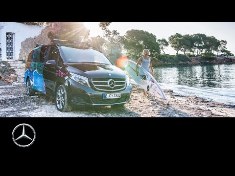 Painted Life: Sonni Hönscheid and the V-Class – Mercedes-Benz original