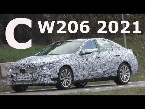 Mercedes Erlkönig C-Klasse C-Class 2021 W206 prototype 4K SPY VIDEO