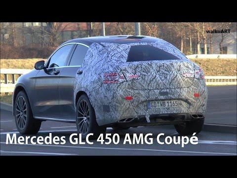 Erlkönig Mercedes-AMG GLC 43 Coupé V6 Ampelstart Mercedes prototype SPY VIDEO